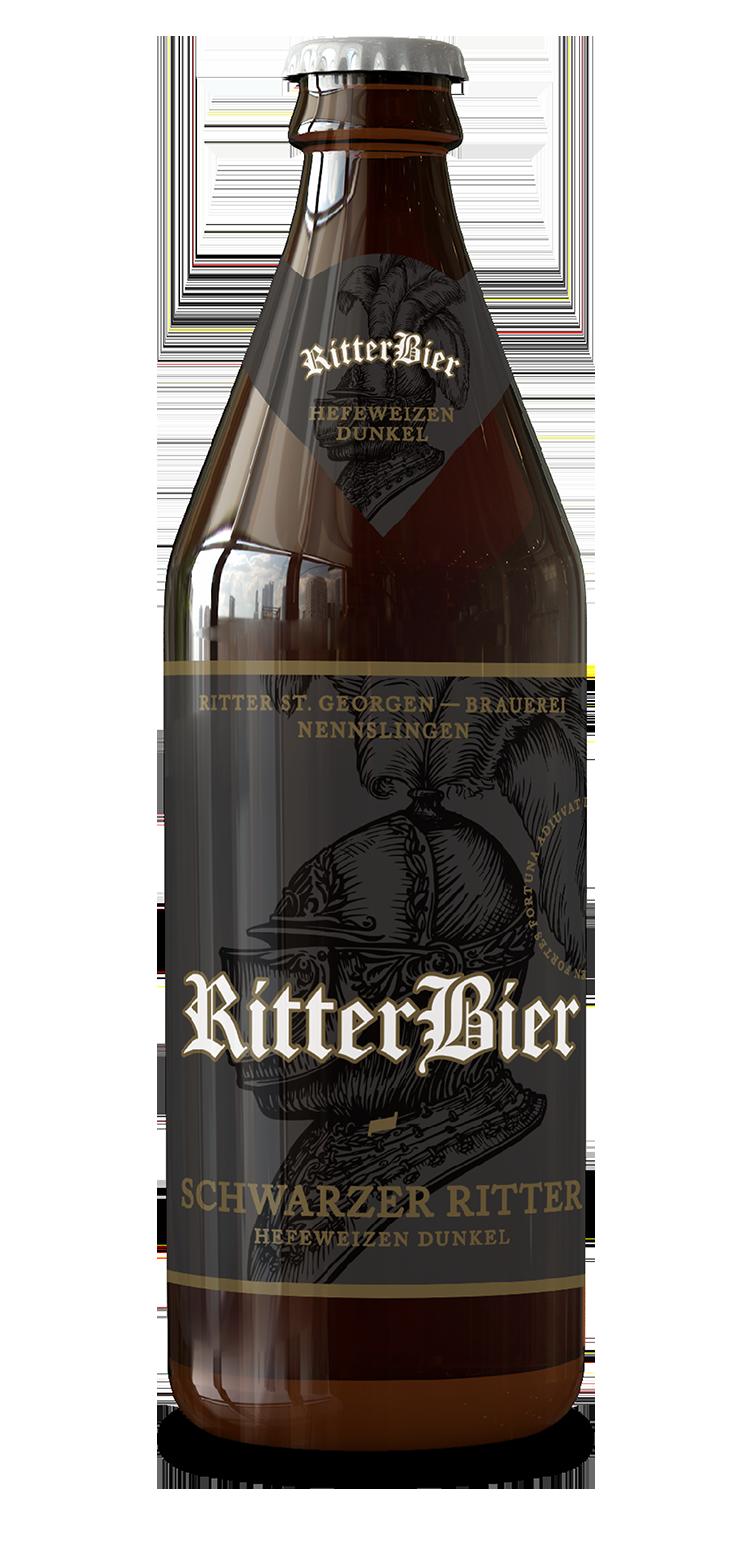Ritter Schwarzer Ritter Hefeweizen dunkel
