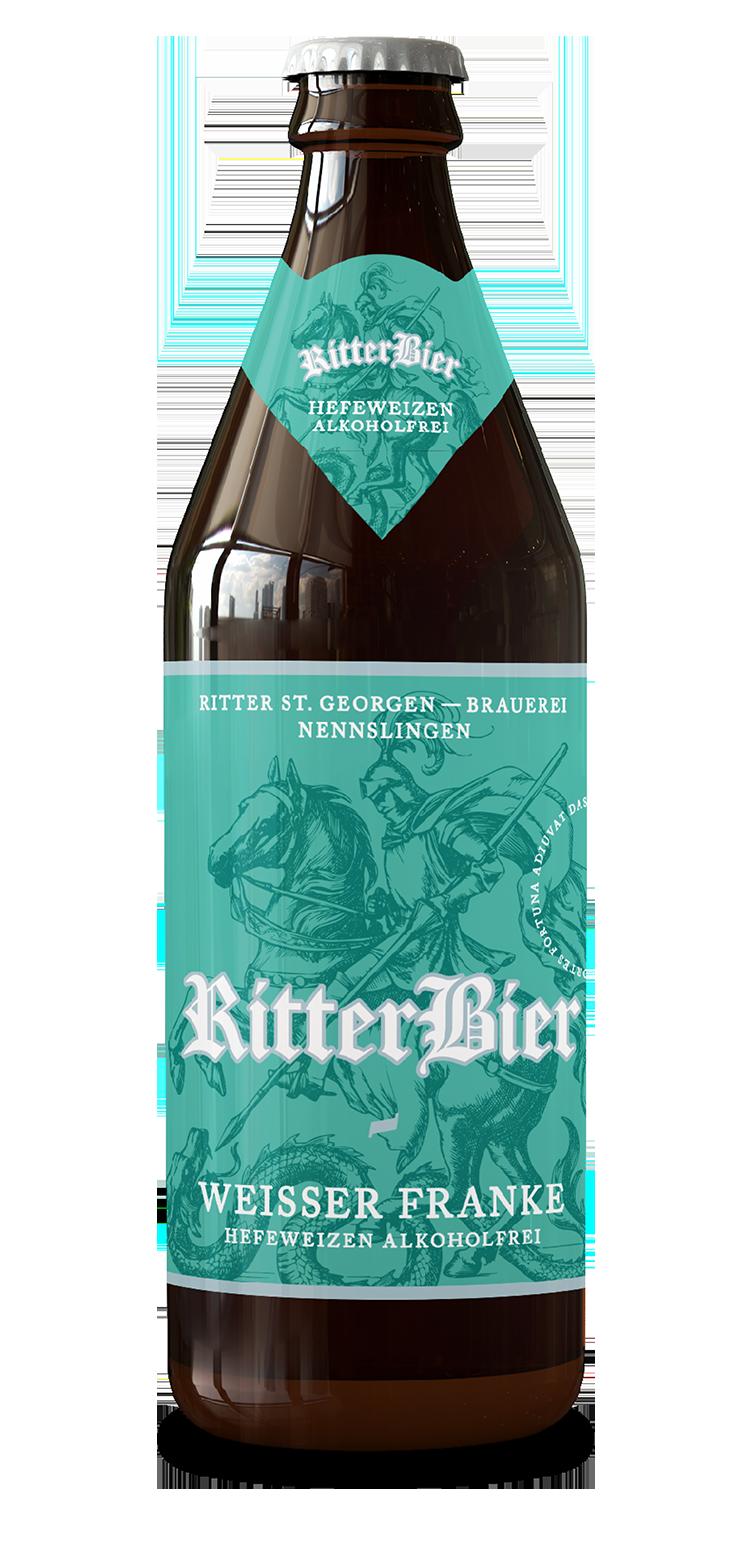 Ritter Weißer Franke Hefeweizen alkoholfrei